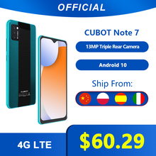 Cubot Smartphone Triple 16gb 2gb WCDMA/LTE/GSM Quad Core Face Recognition 13MP New Camera