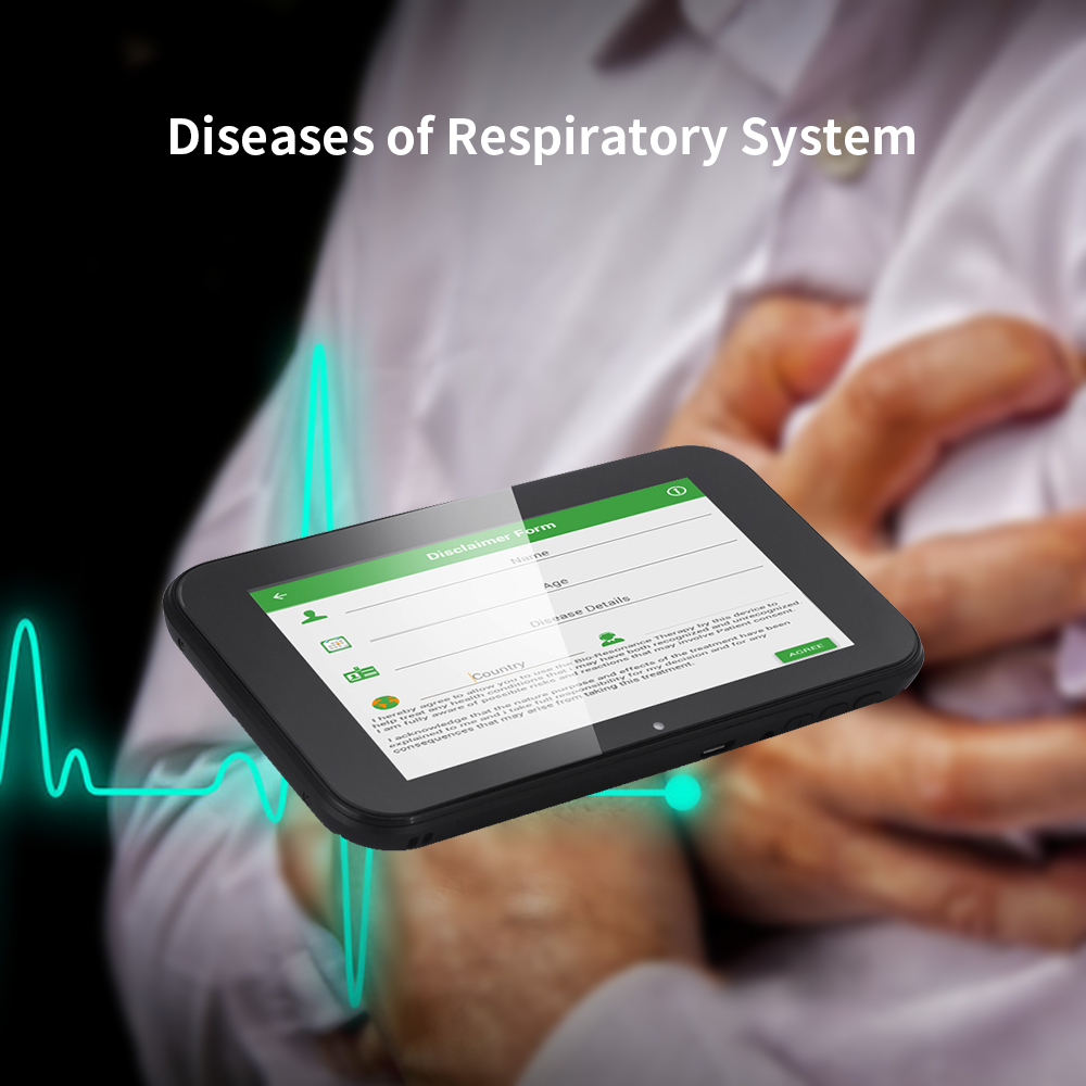 2020 Physical therapy devices low-frequency rife technology bioresonance therapy device