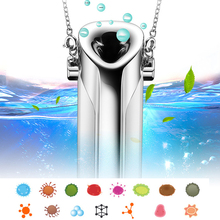 Air Purifier Necklace Mini Portable Usb Air Cleaner Negative Ion Generator Low Noise Air Freshener Drop Shipping Apr6 free shipping solar energy air purifier usb charge portable air cleaner