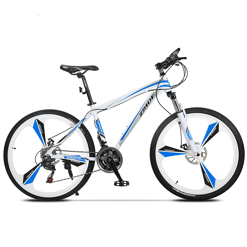 Mountain Bike Bicycle 3 Knife 27 Speed 26 Inch Aluminum Alloy Oil Brake For Men And Women Students 2019 New