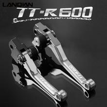 Motorcycle Accessories Dirt Pit Bike Motocross Pivot Brake Clutch Levers For Yamaha TTR600 TTR 600 1998 1999 2000 2001 2002