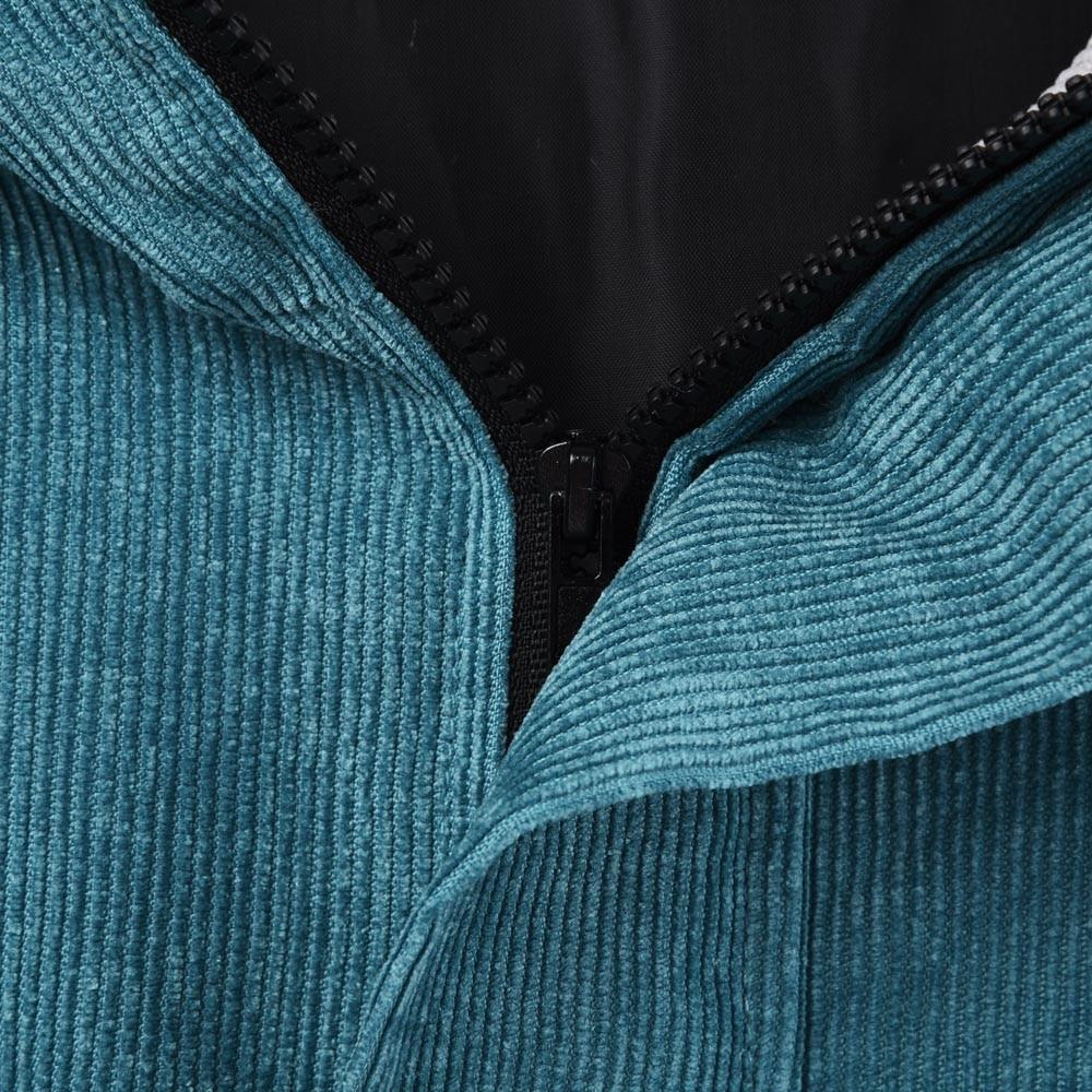 Верхняя одежда и пальто куртки вельветовый с длинным рукавом вельветовые Лоскутные Большие куртки на молнии ветровки пальто и куртки женские S11