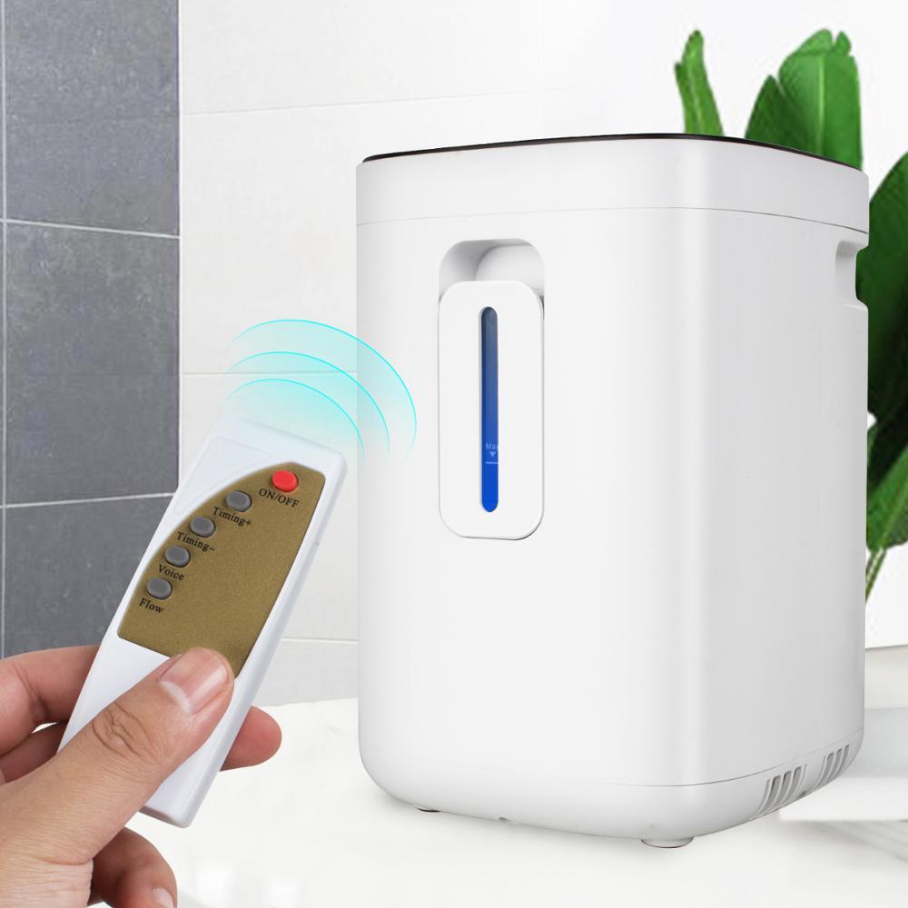 1-6L/min Einstellbar Sauerstoff Konzentrator Touchscreen Sauerstoff Maschine mit Sprach Funktion