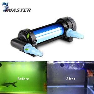 Image 1 - JEBO 220~240V 5W~36W UV Sterilizer Lamp Light Water Cleaner For Aquarium Pond Fish Tank Ultraviolet Filter Clarifier
