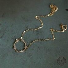 Bracelet en argent Sterling 925 pour femmes, bijoux français Simple, rond Pavé, accessoire de luxe, de fête, cadeau
