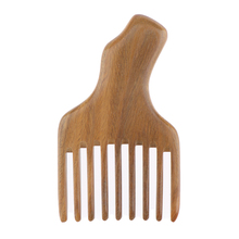 Long Tooth Styling Pick Comb, Afro Comb Curly Hair Brush Salon Hairdressing Styling Barber Tool,Natural Material