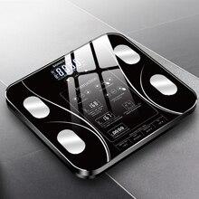 5-180 кг весы для тела Электронные весы для жировых отложений напольные BMI цифровые весы для воды масса здоровья точные умные весы