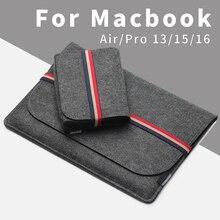 ACECOAT 2020 Sleeve Tasche Fall bundle Laptop Anti scratch Abdeckung für Macbook Air/Pro Retina 13/15/16 touch bar zubehör 2019 set