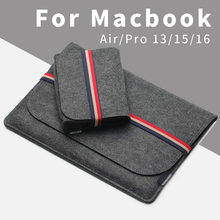 Acecoat 2020 Sleeve Bag Case Bundel Laptop Anti Scratch Cover Voor Macbook Air/Pro Retina 13/15/16 touch Bar Accessoires 2019 Set