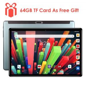 Image 1 - 2020 neue 10 zoll 3G Telefon Tablet PC Quad Core 32GB eMMC Lagerung Dual SIM Karten 5,0 MP kamera 1280x800 IPS Androd 9,0 tablet 10