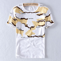 2020 Summer new men linen t-shirt brand short sleeve casual t shirt for men fashion trend camouflage flax t shirts male tshirt