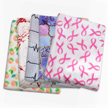 Patchwork Printed Satin Fabric for Tissue Sewing Quilting Fabrics Needlework Material DIY  Handmade Accessories,c13801