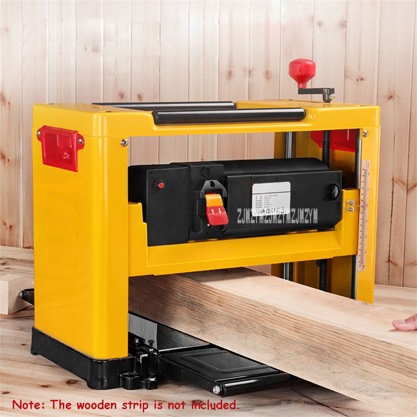 M1B-LS-3301 Electric Wood Planer Multifunctional 13-Inch Woodworking Planer Small Household Table Planer 220V 2000W 8000r/min