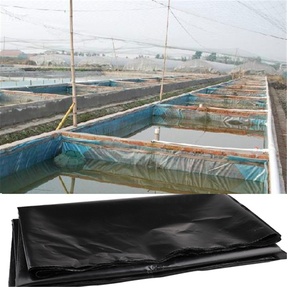 Garden Waterproof  Rubber Pond Liner Hdpe Eco-Friendly Black Pond Liner Plant Liner For Water Garden Koi Ponds Streams Fountains
