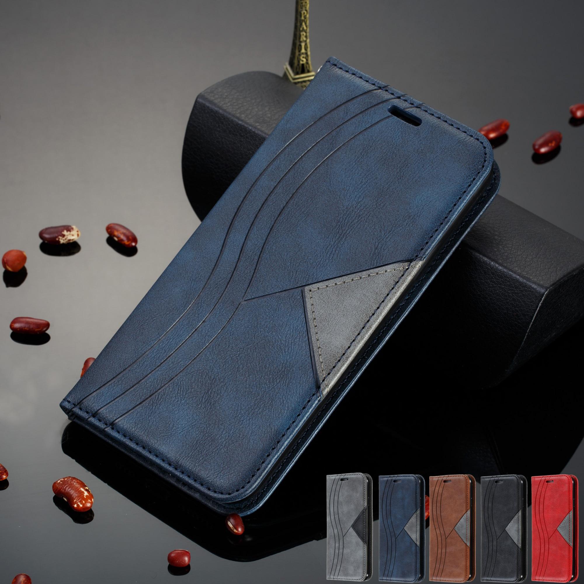 For Xiaomi Mi 9 9T CC9 Note 10 Pro CC9E A3 Case xiomi Redmi 8 8A 7 7A 6A k20 Note 8 7 9S Pro Max 8T Case Leather Cover Coque(China)