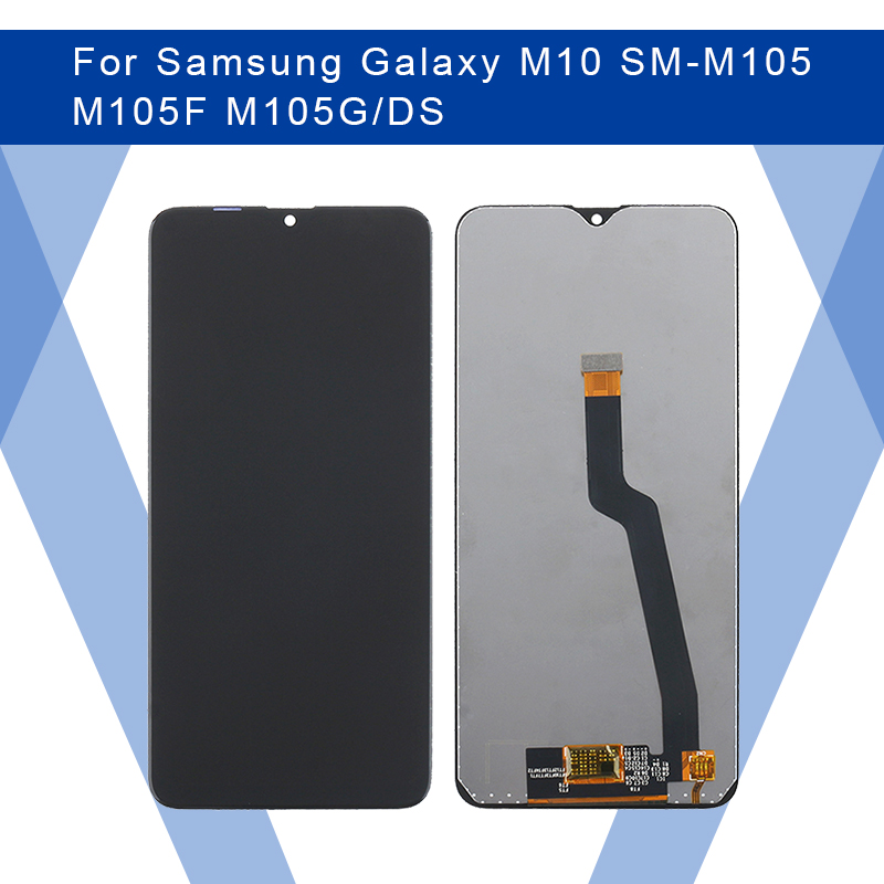 For <font><b>SAMSUNG</b></font> Galaxy <font><b>M10</b></font> SM-M105 M105F <font><b>LCD</b></font> PLS TFT Display <font><b>Screen</b></font>+Touch Panel Digitizer Assembly For <font><b>SAMSUNG</b></font> Display Original image