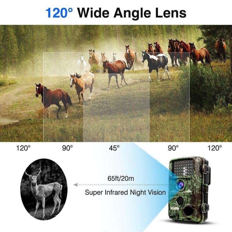 RISE-1080P câmeras de caça ip66 visão noturna