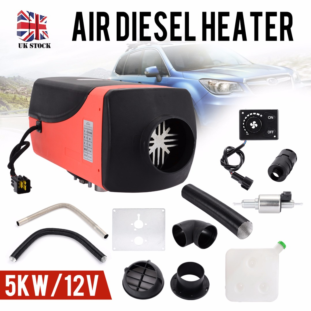 Car Heater 5000W 12V Car Air Heater with <font><b>15L</b></font> <font><b>Tank</b></font> Rotary Switch Parking Heater For RV Motorhome Trailer Trucks Boats image