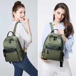 Image 2 - POMELOS Waterproof Women Backpack Fashion Backpack Women High Quality Fabric Roomy School Bag Travel Ladies Backpack Female