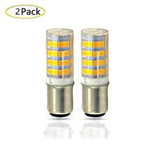 Ba15D LED Bulb 110 220V 5 Watts 350lm Double Contact Bayonet Base Light Bulbs Warm White T3/T4/C7/S6 Halogen Replacement