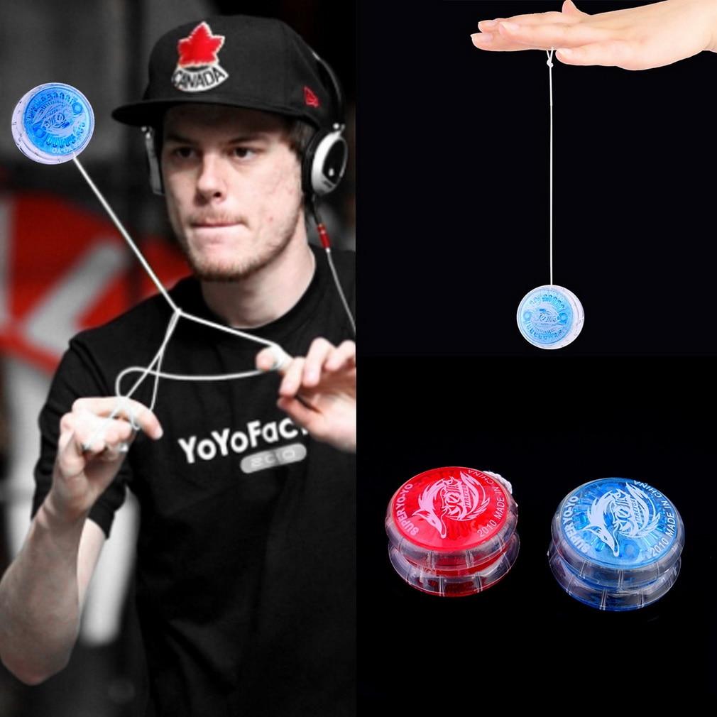 Hot 1pc Colorful Magic Yoyo Toys For Kids Plastic Easy To Carry Yo-yo Toy Party Boy Classic Funny Yoyo Ball Toys Gift