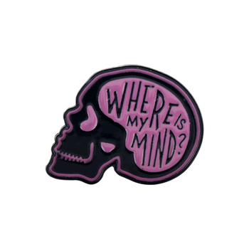 Over-Thinker Club Brooch Where Is My Mind значки Cartoon Shirt Lapel Badge Wholesale Fashion Enamel Pin Jewelry Gift image