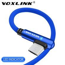 VOXLINK-Cable de datos Micro USB de carga rápida, artículos para carga rápida, cable de datos Micro para Samsung s9 xiaomi/lenovo/huawei/HTC/Meizu