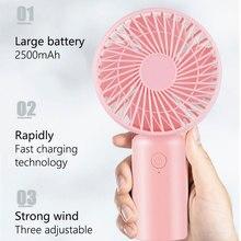 Hand-Held Portable Cartoon Base Fan Mini New Style USB Hand Electric Fan Hand Held Travel Cooler Cooling Mini Fans tiny portable hand held fan