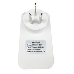 Image 5 - Розетка Zigbee 3,0 Беспроводная с выключателем и дистанционным управлением через приложение