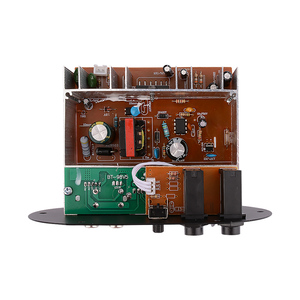 Image 4 - AOSHIKE Dual ไมโครโฟนบลูทูธเครื่องขยายเสียง 12V 24V 220V ซับวูฟเฟอร์เครื่องขยายเสียงสำหรับ 5 10 นิ้วซับวูฟเฟอร์ลำโพง DIY