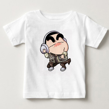 2019 New LOL T Shirt O-Neck Style Hero Avengers Hot Game Tee Shirts Crayon Shin Chan Children Printing Short Sleeve T Shirt татиана северинова кому то