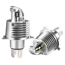 H4 LED Headlight Bulbs 12000LM HB2/9003 Hi/Lo 60W High Power White 6000K CSP Chips led Car Headlight 12V 24V H4 headlamp