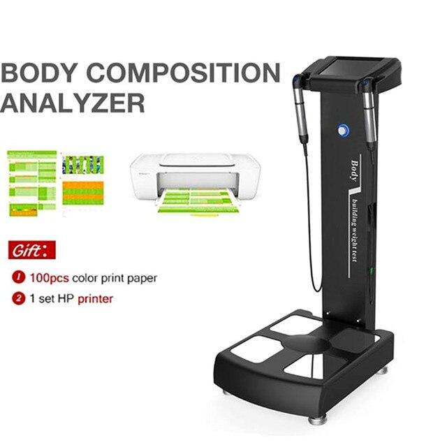 Analyseur de santé corporelle pour analyseur graisse corporelle et élément corporel Salon Spa soins de santé utiliser des soins de santé professionnels Ce