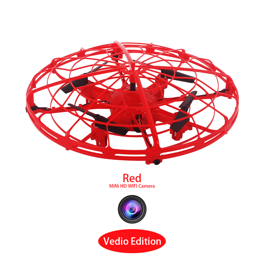 Toys For Children Gesture Gravity Induction Drones Quadcopter Anti-collision Hand UFO Gift Mini Drone Dron UFO Drone With Camera