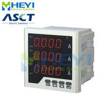 3 Fase Led Digitale Amp Meter Fabrikant Ac Digitale Stroom Meter Met RS485 Communicatie
