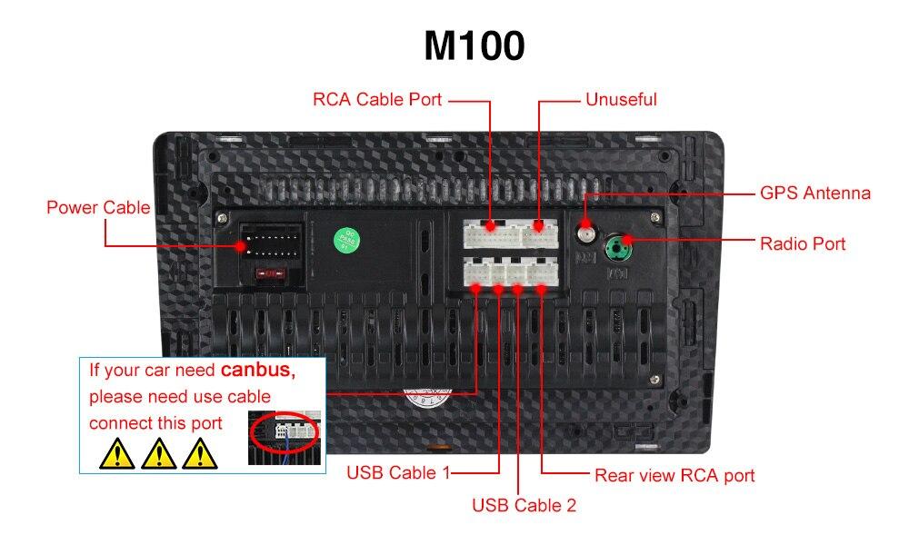 M100背面