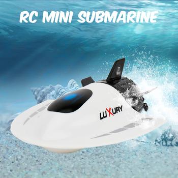 Stwórz zabawki Mini RC Submarine RC Toy zdalnie sterowana wodoodporna nurkowanie świąteczny prezent dla dzieci chłopców tanie i dobre opinie CN (pochodzenie) Z tworzywa sztucznego 7-12y 12 + y Gotowa do działania about 20 minutes Electric Pilot about 6m Mode2