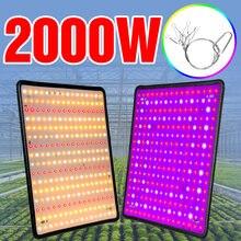 Светодиодный полный спектр светильник 2000w растут светодиодный
