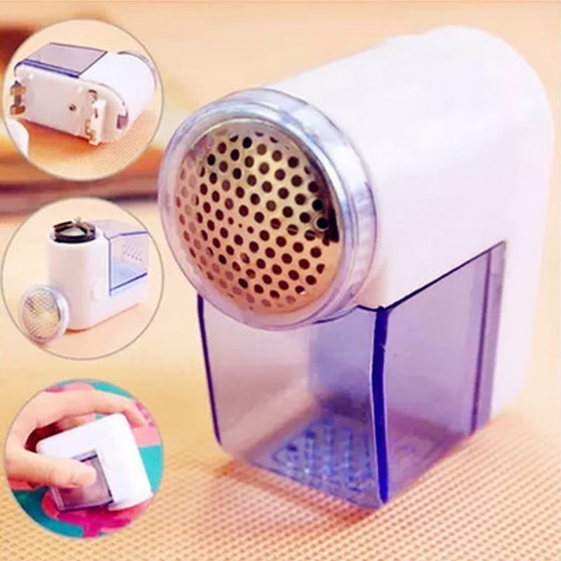 Portable Electric Lint Remover Mini Sweater Clothes Lint Pill Fluff Remover Hair Ball Trimmer Machine Household Fabrics Shaver