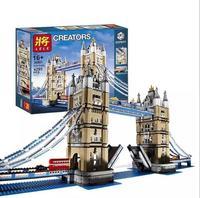 LELE CREATOR 30001 4295pcs World Famous Architecture London Tower Bridge Creator Expert Building Blocks DIY Toys 17004 10214