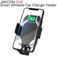 JAKCOM CH2 Smart Wireless Car Charger Holder Hot sale in Mobile Phone Holders Stands as phone magnet tripe air vent phone holder