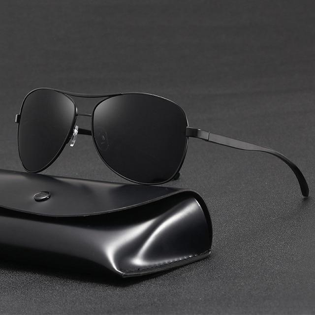 Gafas de sol de aluminio y magnesio para hombre, lentes de conducción de espejo, con revestimiento polarizado, accesorios, novedad de 2020 6