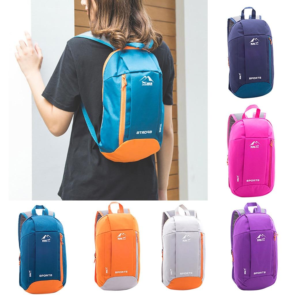 Men Women Sports Backpack Hiking Rucksack Unisex Schoolbags Satchel Bag Handbag