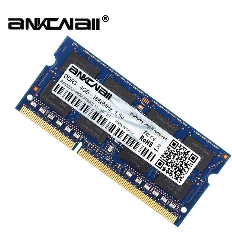 New DDR3L 4GB /8G Laptop RAM Memory For Intel System High Compatible 5