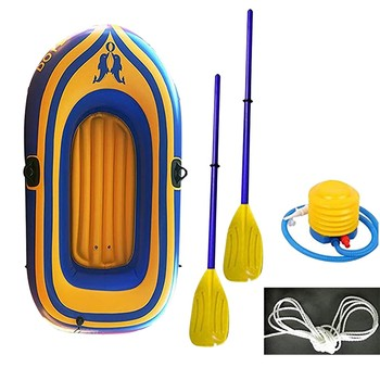 GRT Fitness 2person-Thickening-Pvc-Inflatable-Boat-Raft-River-Dinghy-Boat-Pump-Fishing-Boat-With-Oars-Set-Fishing.jpg_350x350 2person Thickening Pvc Inflatable Boat Raft River Dinghy Boat Pump Fishing Boat With Oars Set Fishing Rafting Water Sports