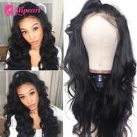 Ali Pearl Hair 13x4 Lace Front Human Hair Wigs Brazilian Body Wave 4x4 Closure Wigs For Black Women 150% 180% T Lace Part Wig