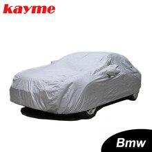 Kayme Volle Auto Abdeckungen Staubdicht Outdoor Indoor UV Schnee Beständig Sonnenschutz polyester Abdeckung universal für BMW