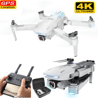 Profession GPS RC Drone with Camera 4K 50x zoom Drone Support memory card WIFI Gesture FPV RC Quadcopter Dron VS S167 SG907