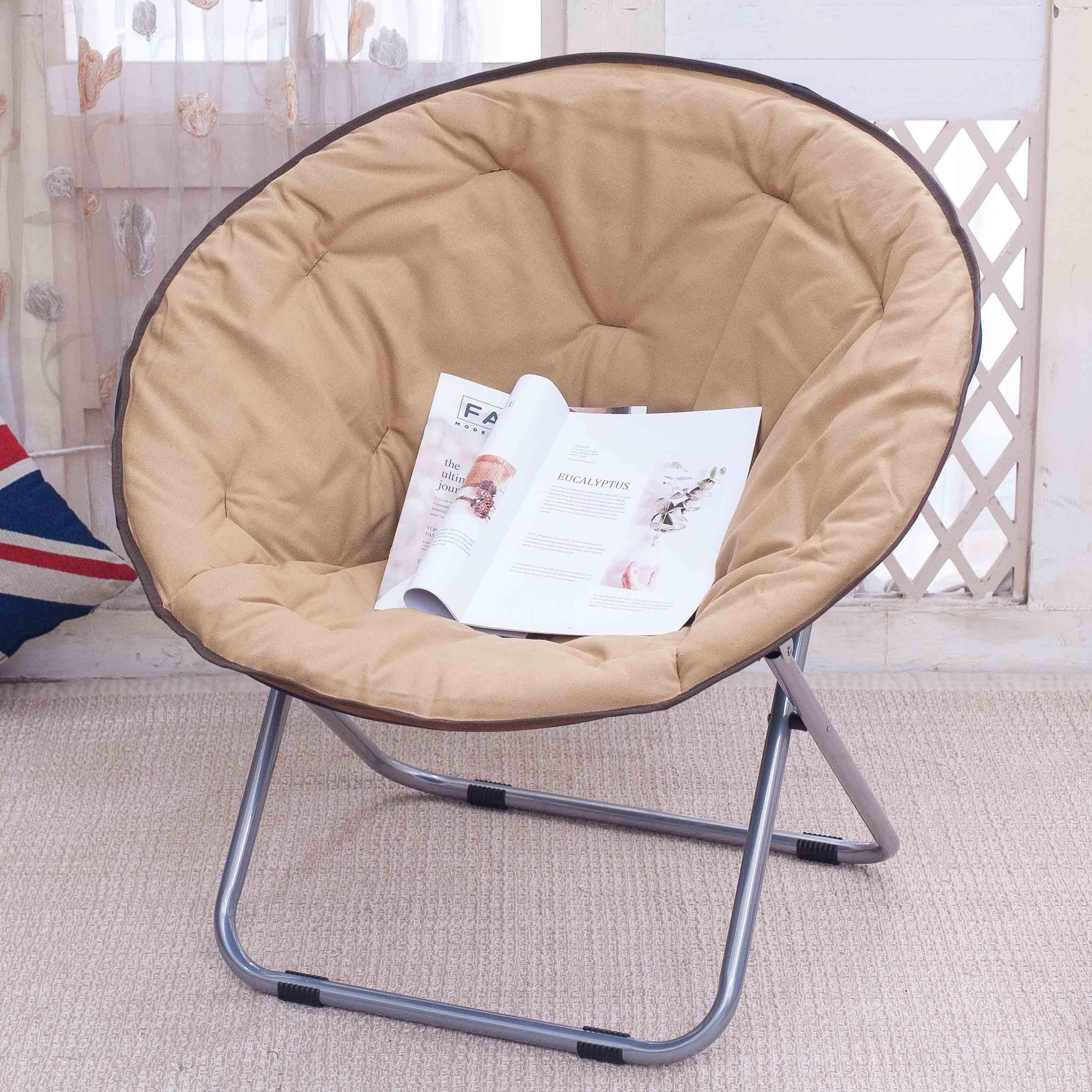 Folding Chair Moon Chair Lazy Chair Sun Lounger Radar Chair Recliner Lunch Break Chair Simple Leisure Chair