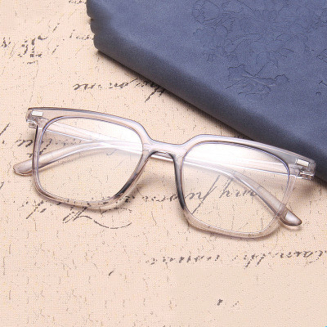 الموضة الكلاسيكية ساحة مكافحة نظارات الضوء الأزرق الرجال نظارات الكمبيوتر للنساء 2020 العلامة التجارية مصمم إطار نظارات شمسية شفافة